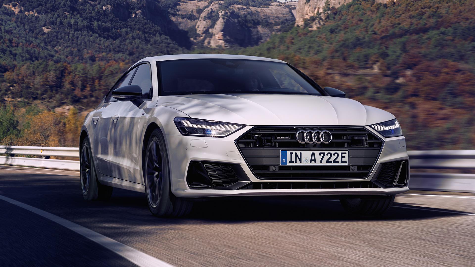 Audi A7 SportBack TFSI e Quattro en carretera