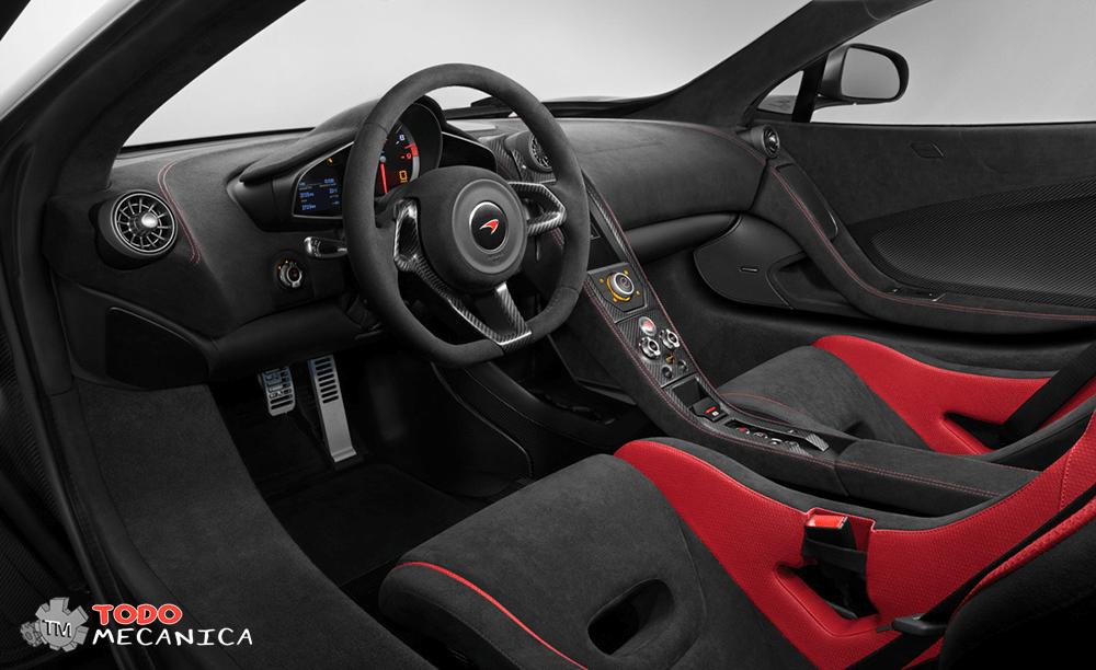 Interior del McLaren 675LT