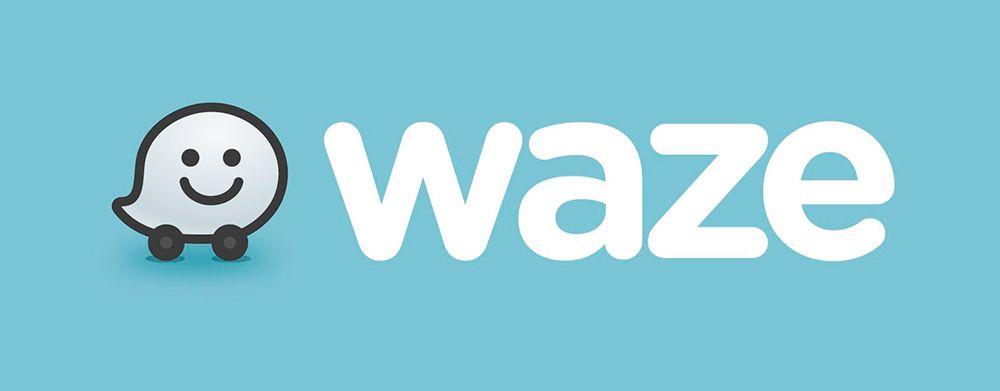 Logo de la app Waze