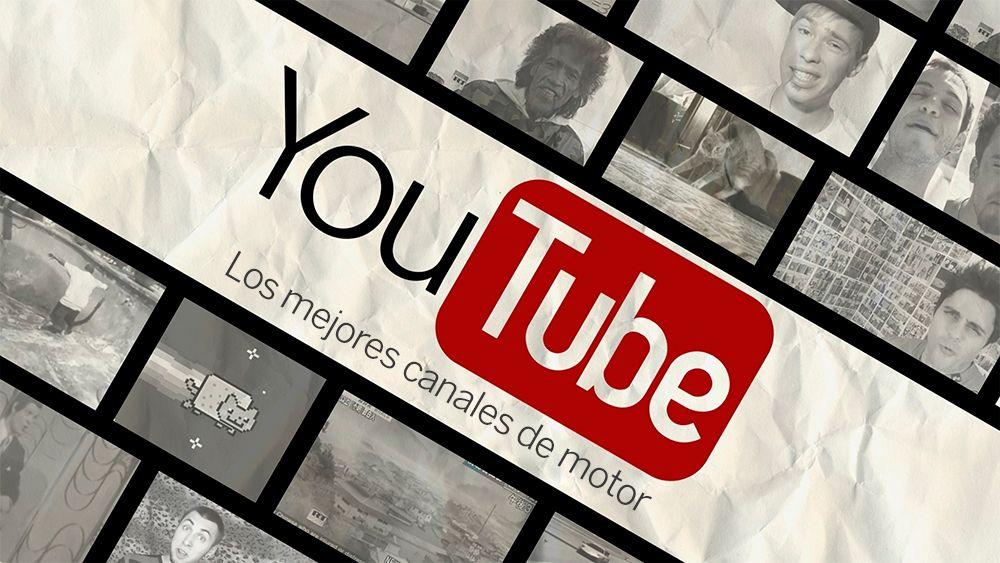 Composición de imágenes de distintos canales de youtube (collage)