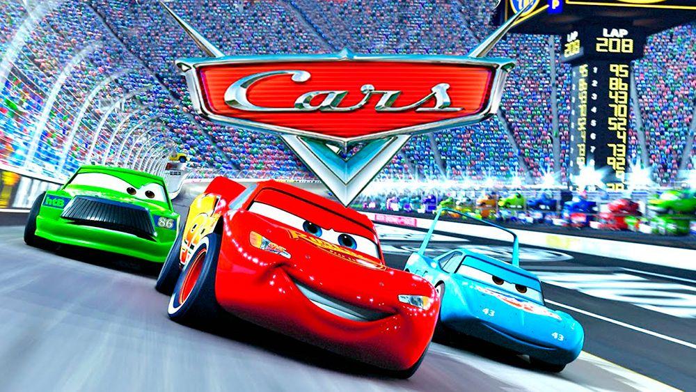 Imágen de publicidad de la película de Disney y Pixar: Cars
