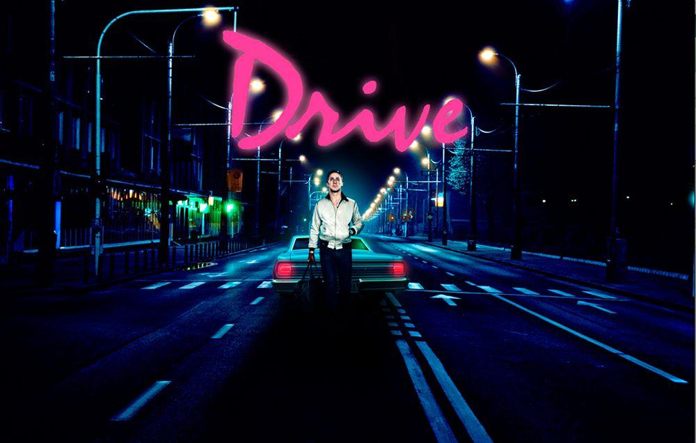 Imagen de publicidad de la película Drive