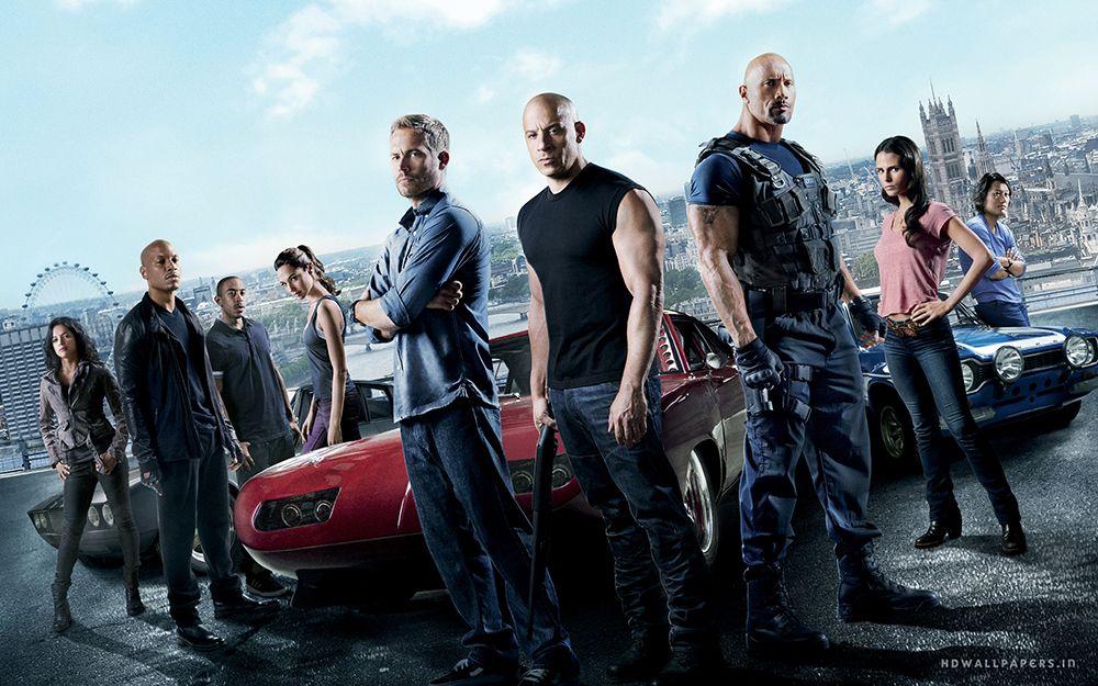 Imágen de promoción de la película To Fast To Furious 6