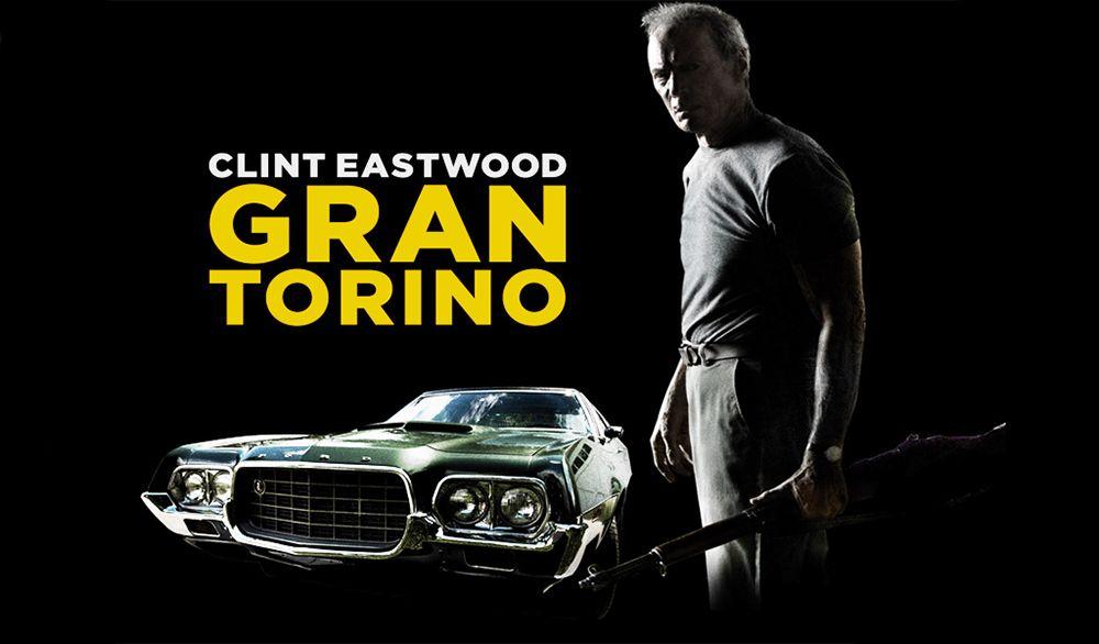 Imágen de publicidad de la película Gran Torino