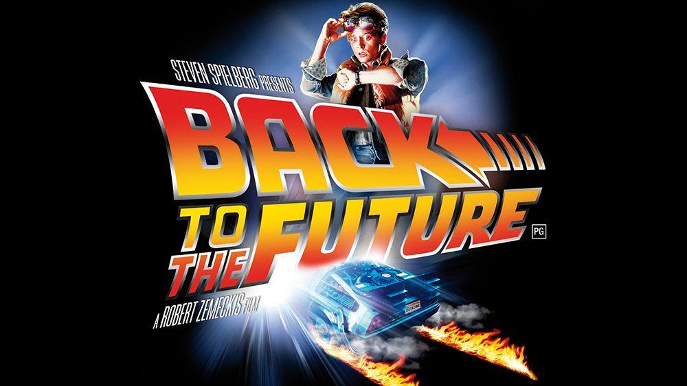 Imagen para la publicidad de la película Regreso al Futuro