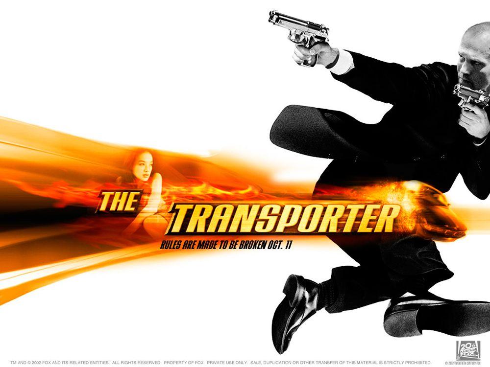 Imagen para la publicidad de la película The Transporter