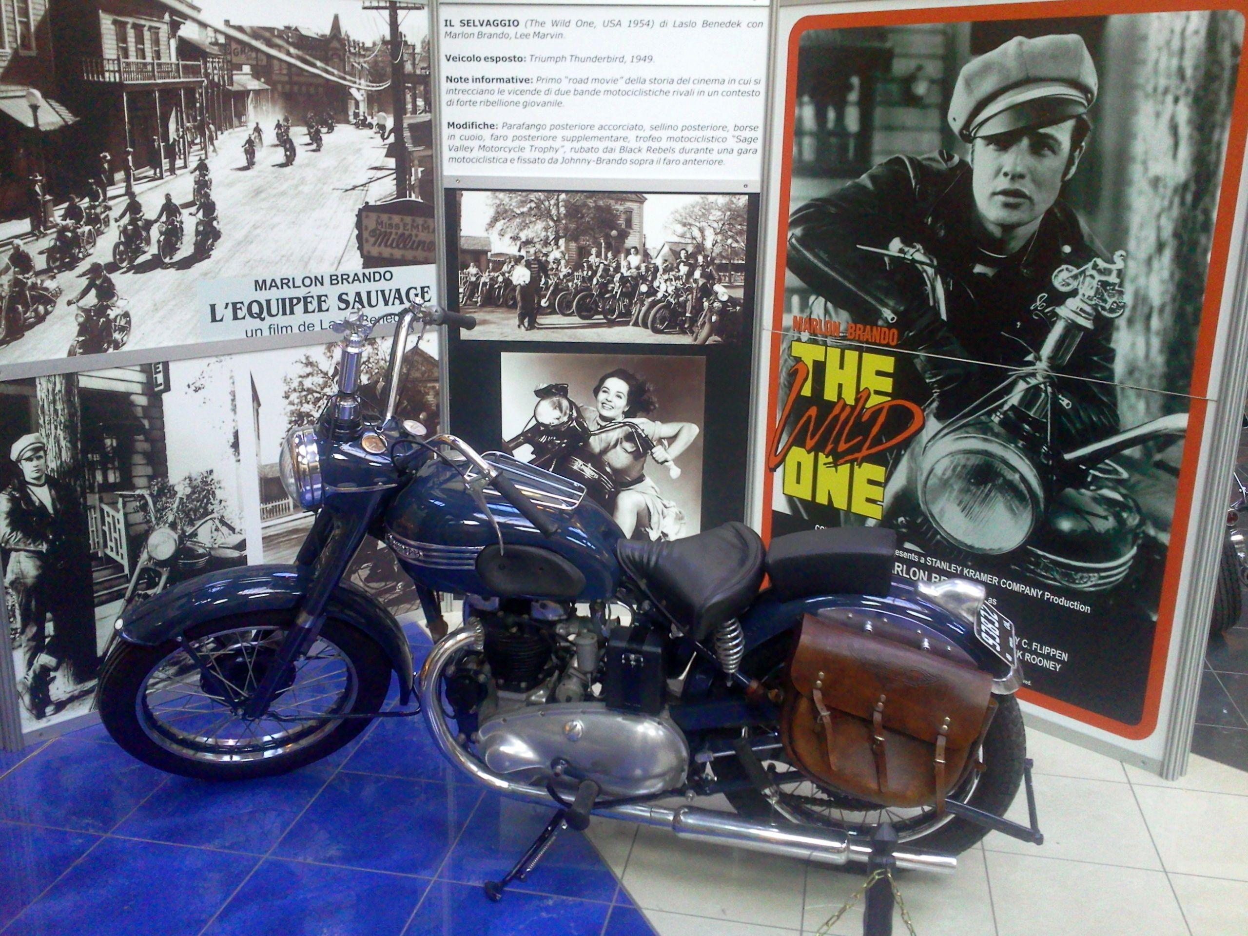 Moto Triumph Thunderbird de la película The Wild One