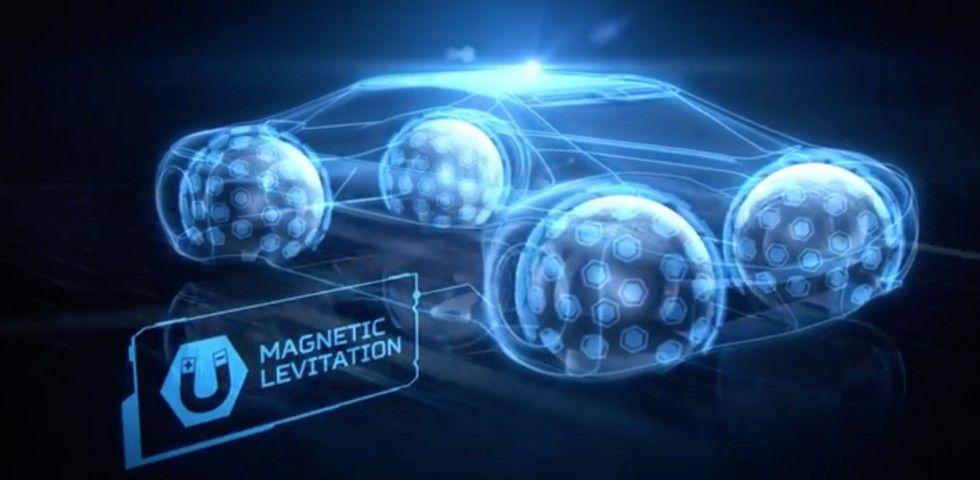 Funcionamiento de las ruedas Eagle 360. Funcionan mediante magnetismo y levitación