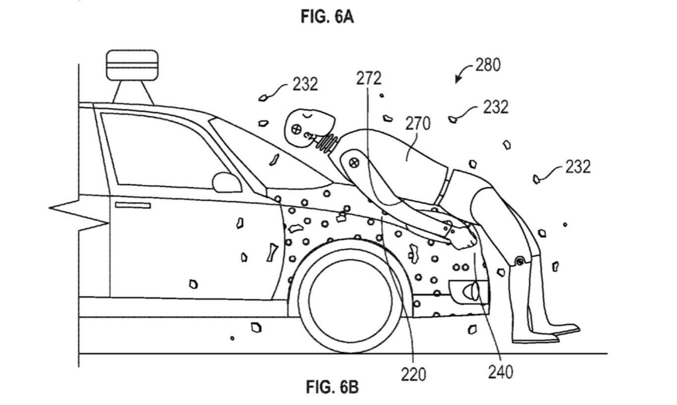 Esquema gráfico de la nueva patente de Google