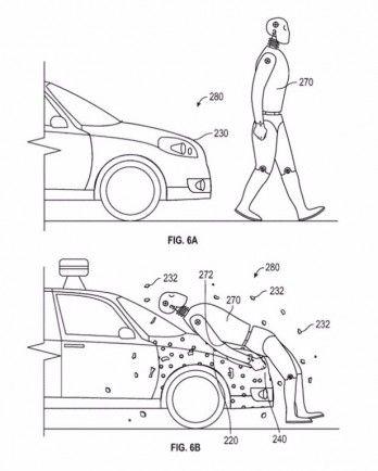 Esquema de representación de como funcionaría la nueva patente de Google