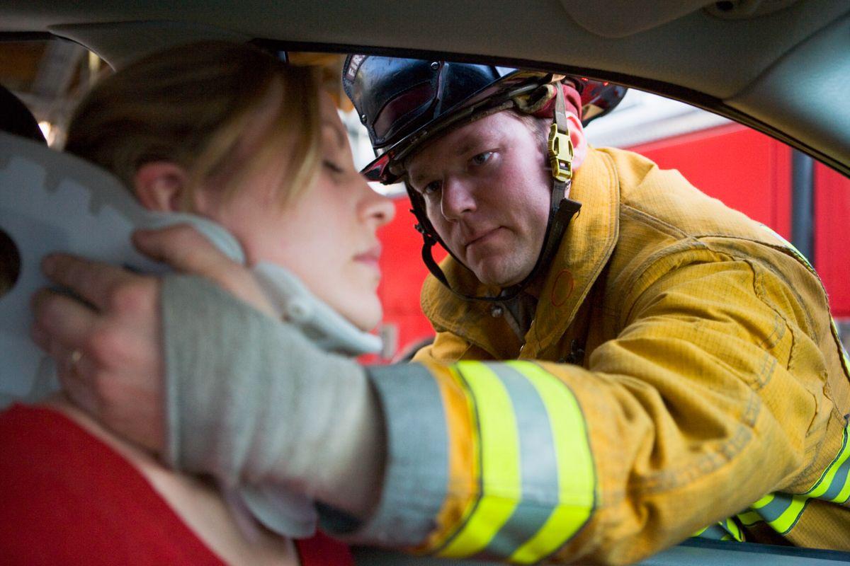 Como debemos actuar ante una accidente de trafico