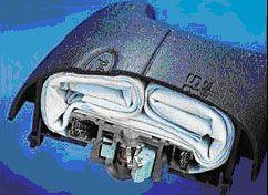 Funcionamiento y plegado de un airbag frontal
